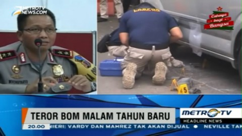 Bom di Depan Kantor Ridwan Kamil Berdaya Ledak Rendah