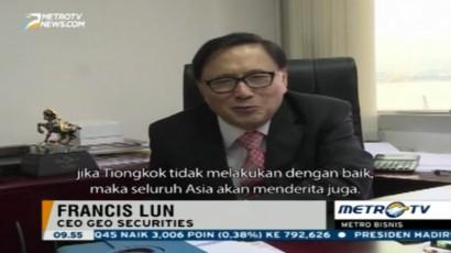 Ekonomi Tiongkok Melambat, Perekonomian Indonesia Terancam