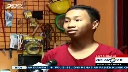 Helm Berpendingin Buatan Remaja Surabaya Diapresiasi Jepang