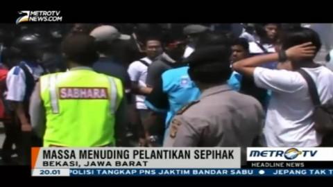 Pelantikan Ketua DPD PAN Bekasi Diwarnai Kericuhan