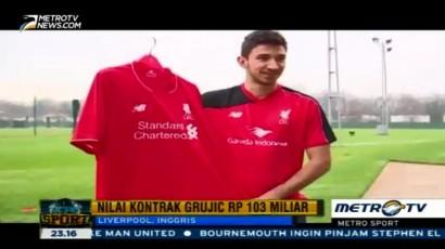 Dikontrak Rp103 M, Grujic Resmi Perkuat Liverpool