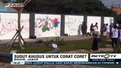 Kurangi Vandalisme, Bogor Ciptakan Taman Corat-coret