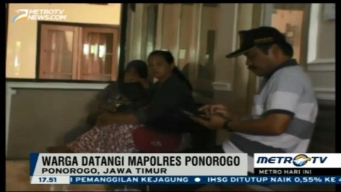 Pascapenggerebekan Gudang Kendaraan Ilegal, Warga Datangi Mapolres Ponorogo