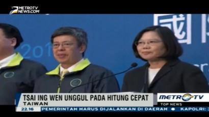 Pemilu Taiwan, Tsai Ing Wen Unggul versi Hitung Cepat