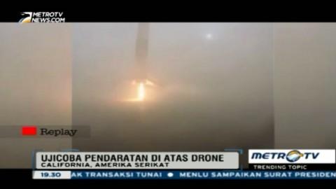 Gagal Mendarat, Roket SpaceX Meledak di Landasan
