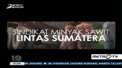 Sindikat Minyak Sawit Lintas Sumatra (1)