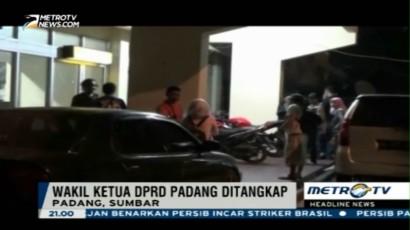 Asik Main Judi, Wakil Ketua DPRD Padang Ditangkap