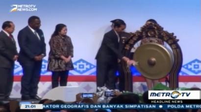 Jokowi Buka Konferensi Internasional Keluarga Berencana