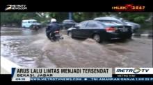 Perbaikan Drainase Jalan KH Noer Ali Bekasi Tak Buahkan Hasil