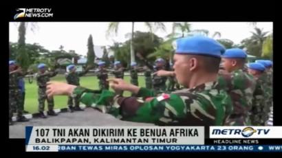 107 Prajurit TNI akan Dikirim ke Sudan
