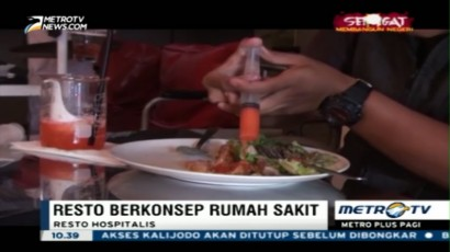 Hospitalis, Resto Unik Bertemakan Rumah Sakit