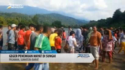 Geger Penemuan Sesosok Mayat di Sungai Batang Tambangan