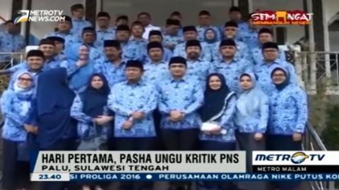 Hari Pertama Jadi Wawalkot Palu, Pasha Ungu Kritik PNS