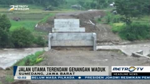 Pembangunan Jembatan Lingkar di Sumedang Terbengkalai