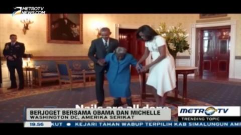 Nenek 106 Tahun Ini Berjoget Bersama Obama