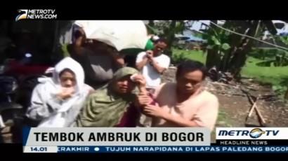Korban Tewas Tembok Roboh di Bogor Dimakamkan