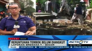 Pemilik Lahan Tembok Roboh di Bogor Belum Diketahui