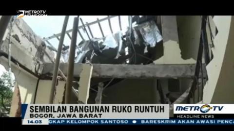 Gudang Gas Elpiji Oplosan di Bogor Meledak, 9 Ruko Hancur