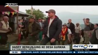 Kunjungi Nepal, Pangeran Harry Menginap di Rumah Tentara Gurkha
