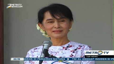 Aung San Suu Kyi Masuk Kabinet Baru Myanmar