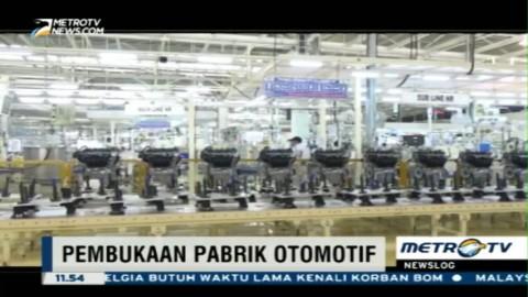 Pabrik Baru Toyota Diklaim Paling Efisien di Dunia