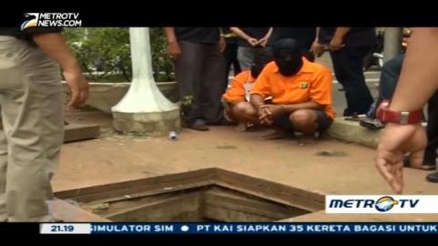 Sindikat Pencuri Kabel Gorong-gorong Ring Satu (2)