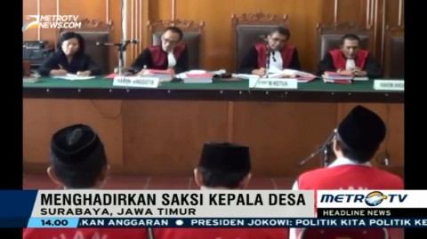 Mantan Kades Bersaksi di Sidang Lanjutan Kasus Salim Kancil