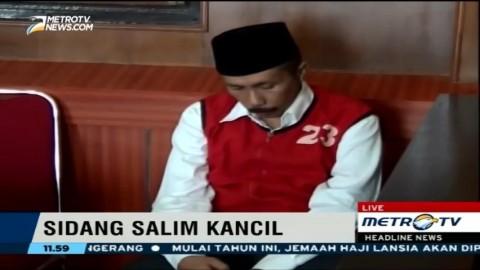 Sidang Salim Kancil, Saksi Jelaskan Keseharian Kades Desa Selok Awar-awar