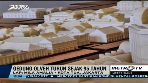 Gedung OLVEH, Saksi Penurunan Permukaan Tanah di Jakarta