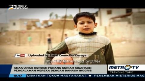 Cerita Anak-anak Korban Perang Suriah