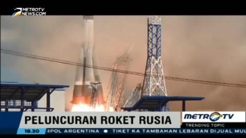 Video Peluncuran Roket Rusia Menjadi Viral