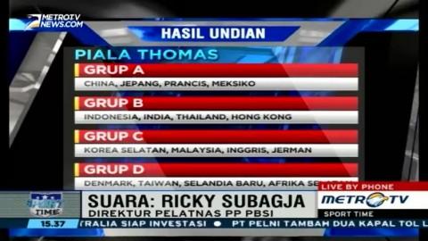 Tim Indonesia Siap Rebut Piala Thomas dan Uber