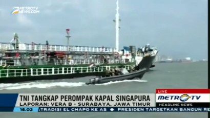 TNI AL Gagalkan Aksi Perompakan Kapal Singapura