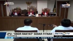 Pimpinan Obor Rakyat Didakwa Cemarkan Nama Baik Jokowi