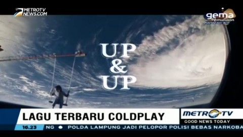 Coldplay Rilis Single Baru 'Up & Up'