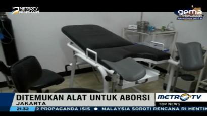 Dinkes DKI Gerebek Klinik Aborsi di Jakarta Pusat