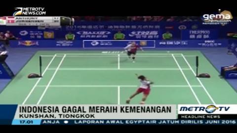 Kalahkan Indonesia, Denmark Juara Piala Thomas