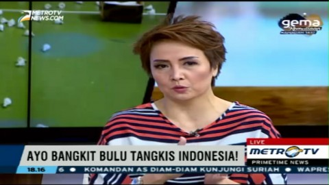 Kematangan Bermain Pemain Tunggal Indonesia Dinilai Masih Kurang
