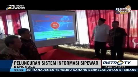 BPN Luncurkan Sistem Informasi Sipewar