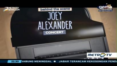 Behind The Scene Joey Alexander Concert (1)