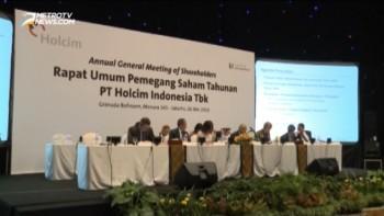 Paparan Publik Rapat Umum Pemegang Saham Tahunan 2015 PT Holcim Indonesia Tbk