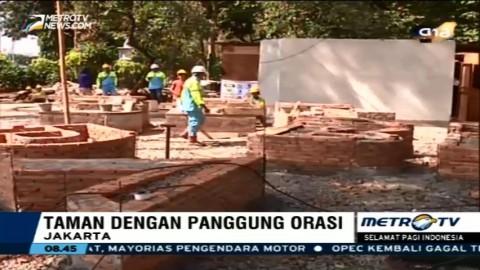 Pembangunan Taman Aspirasi Capai 75%