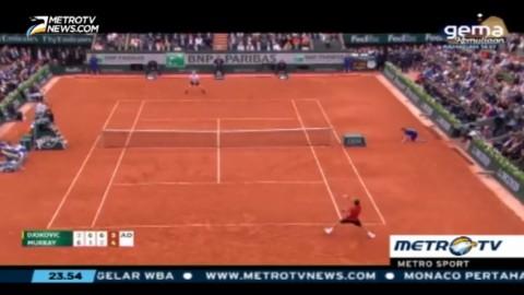 Djokovic Raih Trofi Pertama Prancis Terbuka
