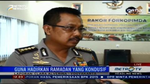 Polda DIY akan Lanjutkan Operasi Pekat di Bulan Ramadan