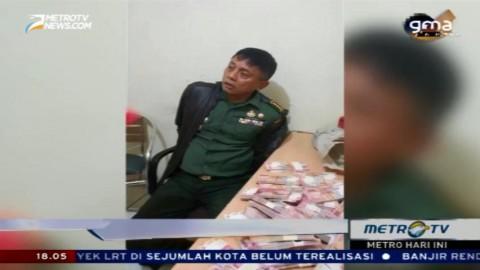 Perwira TNI Tertangkap Mengedarkan Uang Palsu