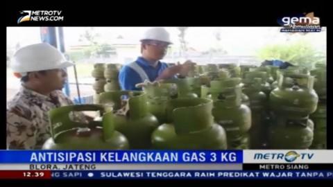 Disperindag Blora Pastikan Stok Tabung Gas 3 Kg Aman