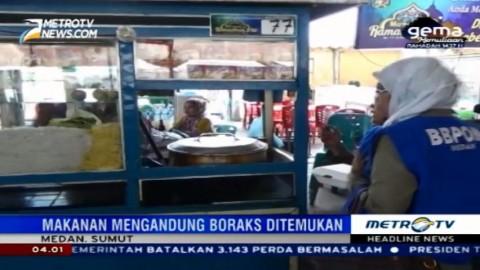 Petugas Temukan Makanan Mengandung Boraks di Ramadan Fair