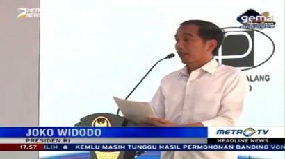 Jokowi Resmikan Jalan Tol Pejagan-Pemalang