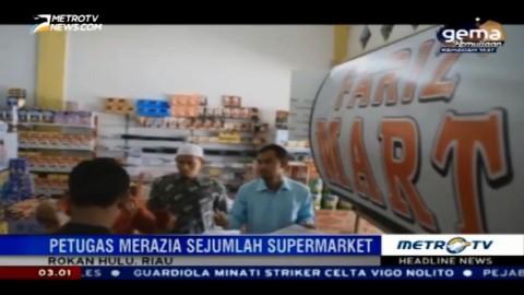 BPOM Pekanbaru Temukan Makanan Kedaluwarsa di Supermarket