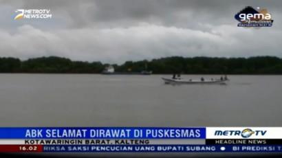 KM Nusantara Dolphin Karam, Satu ABK Tewas